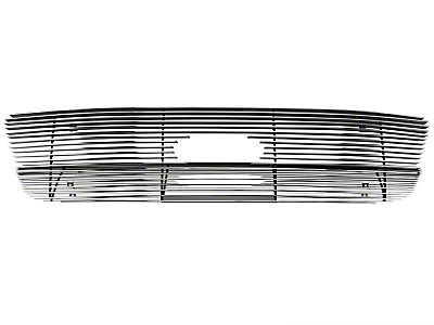 Modern Billet Upper Overlay Grille - Polished (99-03 All)