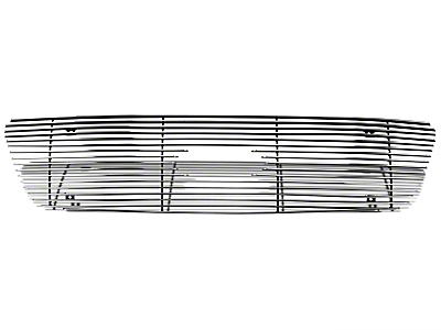 Modern Billet Bar Upper Overlay Grille - Polished (99-03 All)