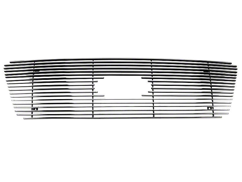 Modern Billet Upper Overlay Grille w/ Emblem Cutout - Polished (04-08 XL, XLT, Lariat)
