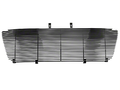 Modern Billet Upper Replacement Grille w/ Emblem Delete - Polished (04-08 XL, XLT, Lariat)