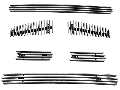 Modern Billet 6-Piece Upper Overlay Grille - Polished (04-08 FX4, STX, King Ranch)