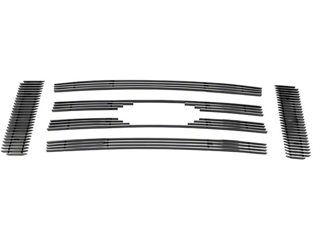 Modern Billet 6-Piece Upper Overlay Grille - Polished (09-12 STX, XL, XLT; 2009 FX4)