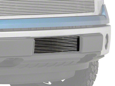 Modern Billet Lower Bumper Grille Insert - Polished (09-14 All, Excluding Raptor, Harley Davidson & 2011 Limited)