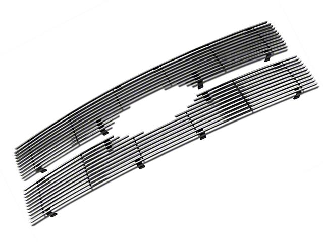 Modern Billet Upper Grille Insert - Polished (09-12 Platinum)