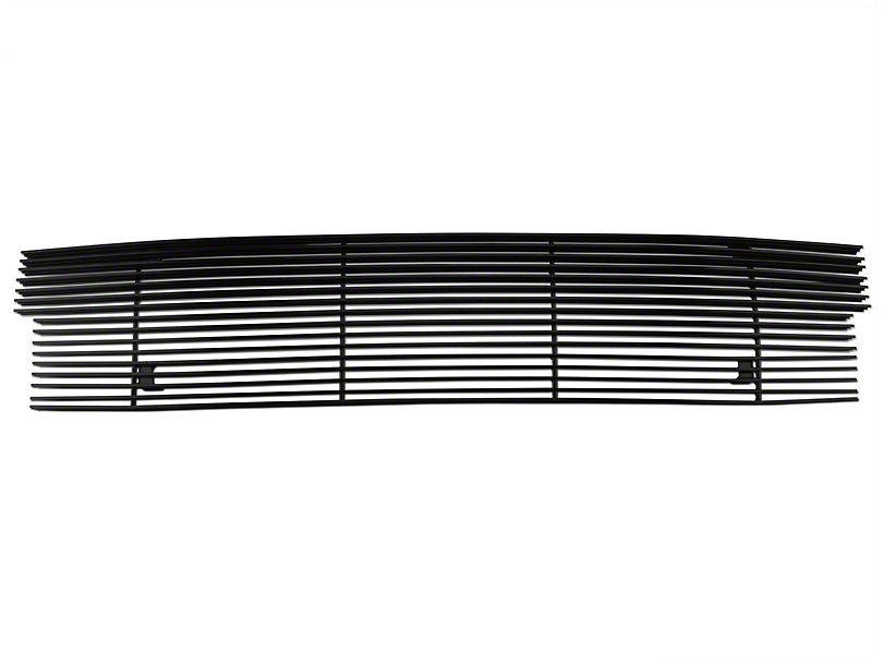 Modern Billet Upper Logo Delete Grille - Black (97-98 F-150)