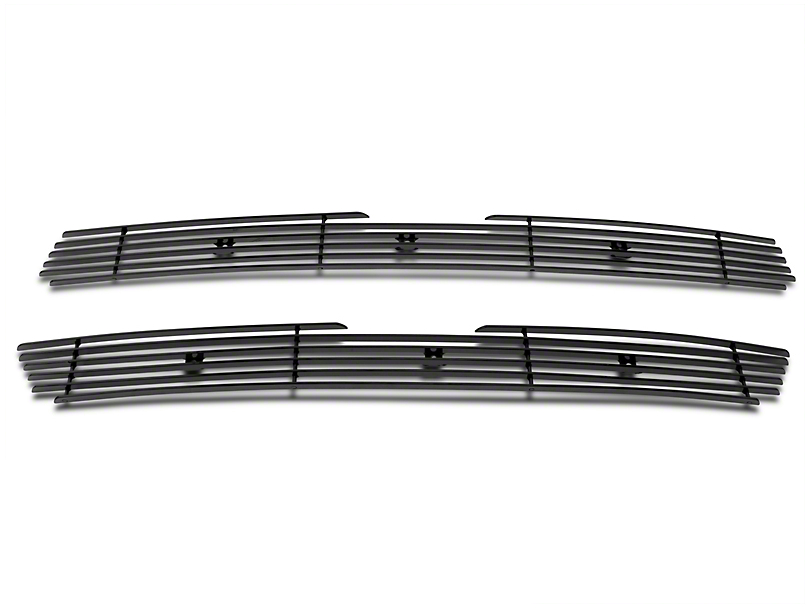 Modern Billet Upper Overlay Grille - Black (97-98 All)