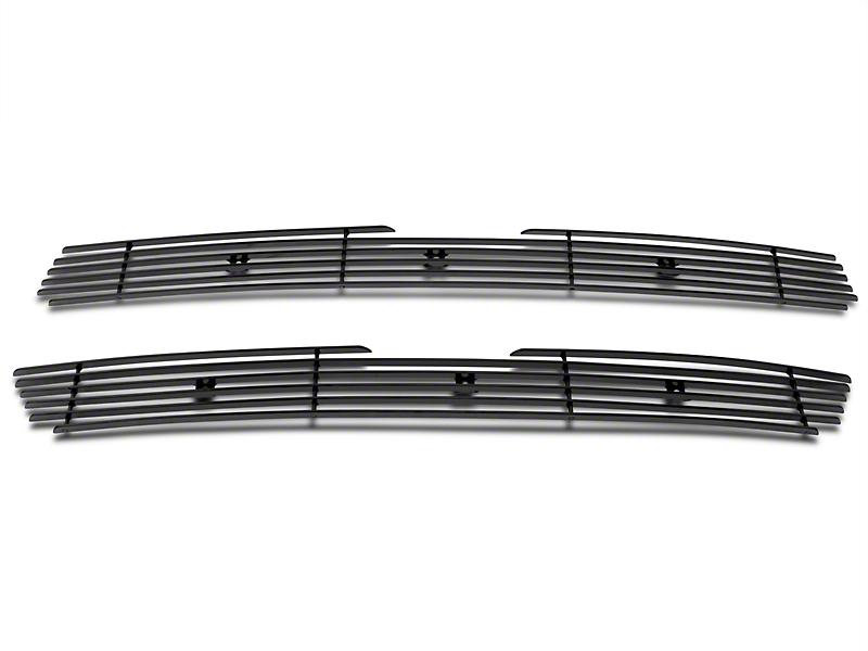 Modern Billet Upper Overlay Grille - Black (97-98 All)