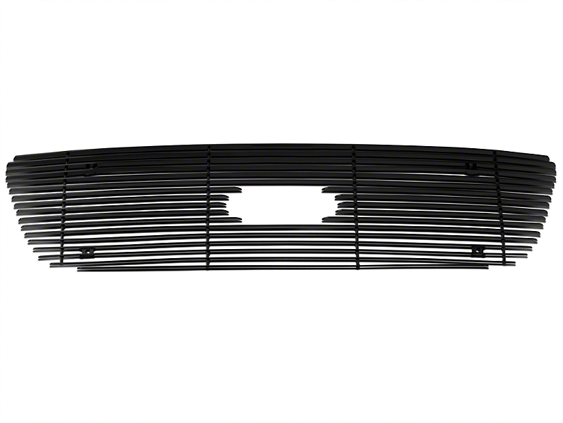 Modern Billet Bar Upper Overlay Grille - Black (99-03 All)