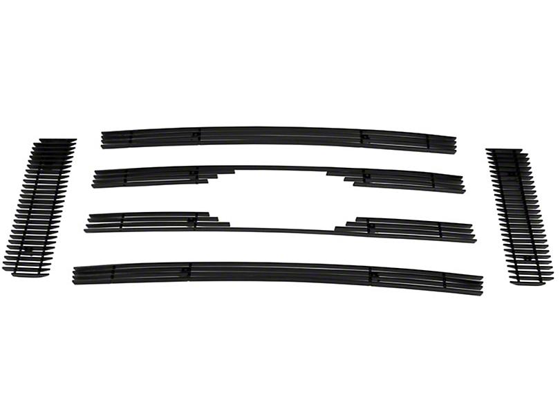 Modern Billet 6-Piece Upper Overlay Grille - Black (09-12 STX, XL, XLT; 2009 FX4)