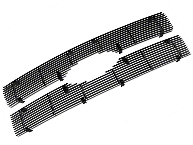 Modern Billet Upper Grille Insert - Black (09-12 Platinum)