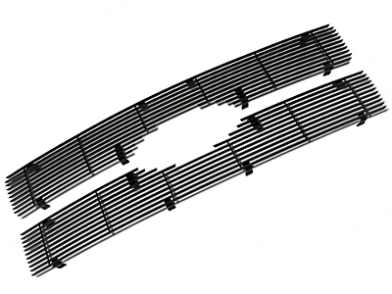 Modern Billet Upper Grille Insert - Black (09-12 F-150 Platinum)