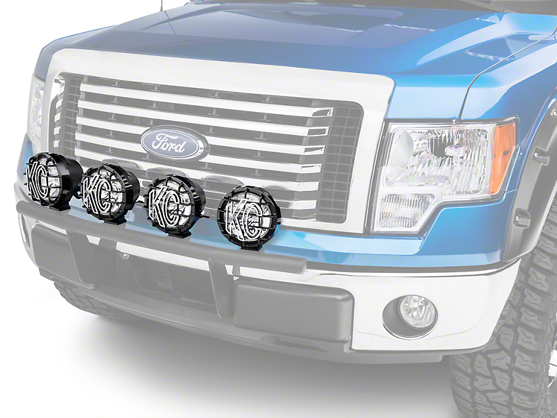 Ford Performance 6 in. Round Auxiliary HID Lights - Set of Four (09-14 F-150)