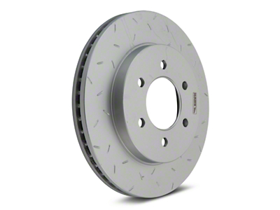 Hawk Performance Quiet Slot 6-Lug Brake Rotors - Front (04-08 2WD/4WD)