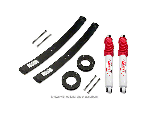 Tuff Country 2 in. Lift Kit w/ SX8000 Shocks (09-17 2WD/4WD, Excluding Raptor)