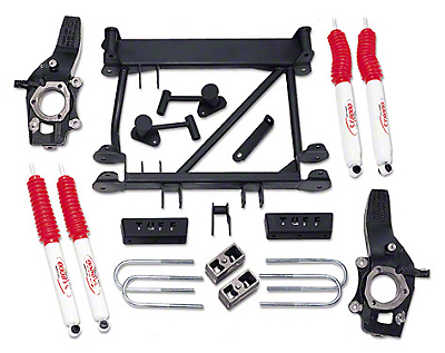 Tuff Country 4.5 in. Lift Kit w/ SX8000 Shocks (97-03 4WD)