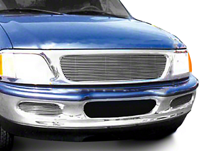 T-REX Billet Series Polished Grille - Horizontal (97-98 All)