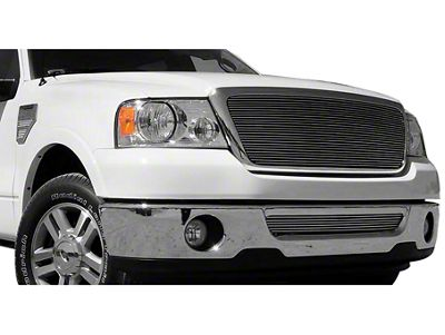 Billet Series Upper Replacement Grille w/ Emblem Delete - Polished (04-08 All)