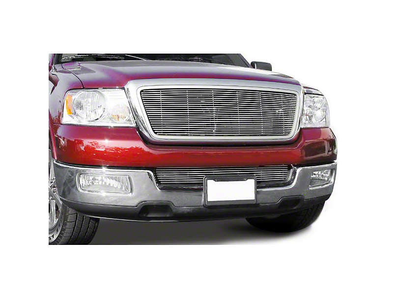T-REX Billet Series Lower Bumper Horizontal Grille Insert - Polished (04-08 F-150)