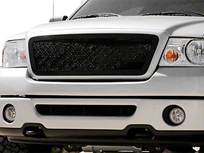 T-REX Upper Class Series Lower Bumper Mesh Grille Insert - Black (06-08 All)