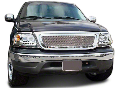 T-REX Upper Class Series Polished Small Mesh Upper Grille (99-03 All)