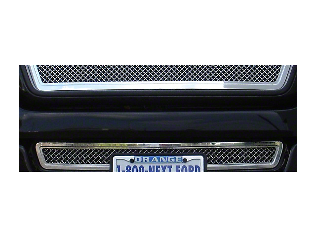 T-REX Hybrid Series Lower Bumper Mesh Grille Insert - Chrome (04-05 All)