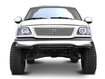 T-REX X-Metal Series Polished Small Mesh Upper Grille (99-03 All)