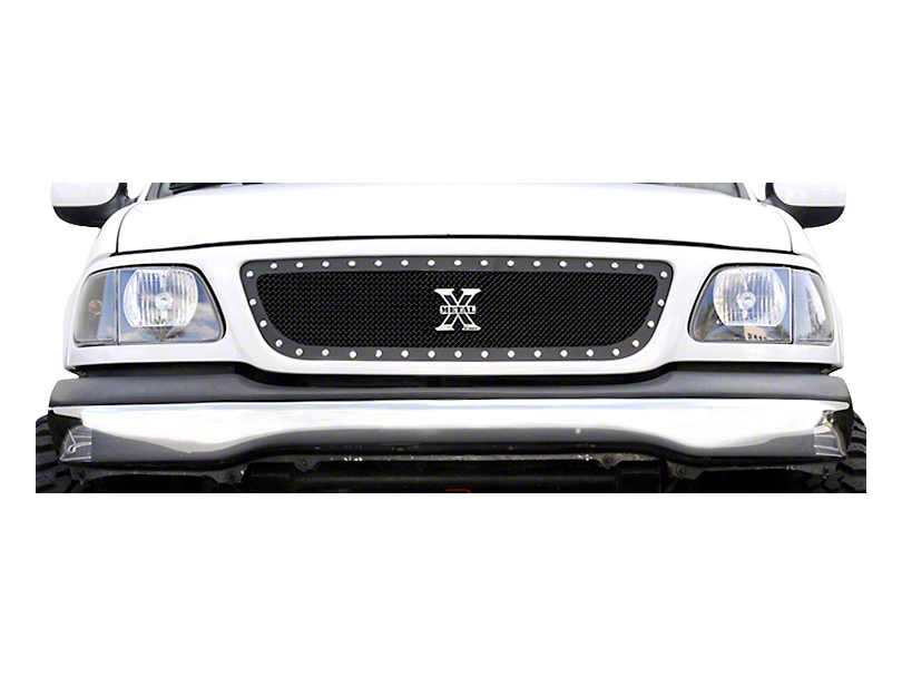 T-REX X-Metal Series Black Small Mesh Upper Grille (99-03 All)