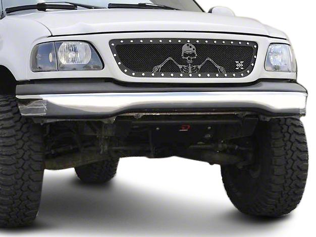 T-REX X-Metal Series Flat Black Small Mesh Upper Grille (99-03 F-150)