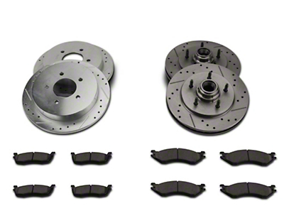 Power Stop Z36 Extreme Truck & Tow Brake Kit - Front & Rear (99-Early 00 2WD F-150)