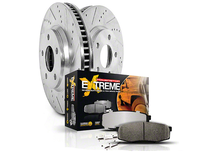 Power Stop Z36 Extreme Truck & Tow Brake Kit - Front & Rear (Late 00-03 4WD 5-Lug)