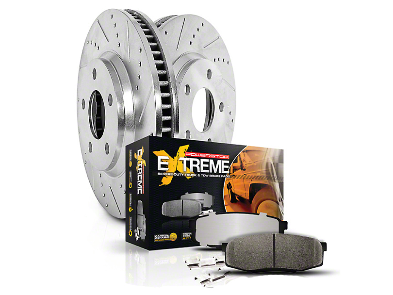 Power Stop Z36 Extreme Truck & Tow Brake Kit - Front & Rear (Late 00-03 2WD 5-Lug)
