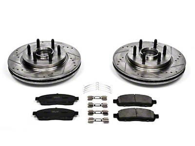 Power Stop Z23 Evolution Sport Brake Rotor & Pad Kit - Front (04-08 2WD, 7-Lug)