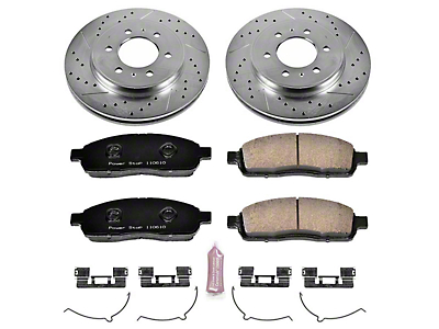 Power Stop Z23 Evolution Sport 6-Lug Brake Rotor & Pad Kit - Front (2009 2WD/4WD F-150)