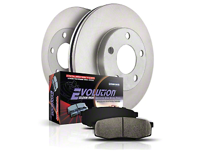 Power Stop OE Replacement 5 or 7-Lug Brake Rotor & Pad Kit - Front (Late 00-03 F-150; 99-03 F-150 Lightning)