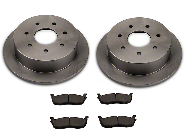 Power Stop Brakes >> Power Stop Oe Replacement 7 Lug Brake Rotor Pad Kit Rear Late 00 03 F 150 W Rear Disc Brakes