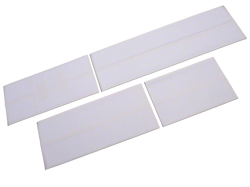 Roush White Stripe Kit - Top (04-08 SuperCab, SuperCrew)