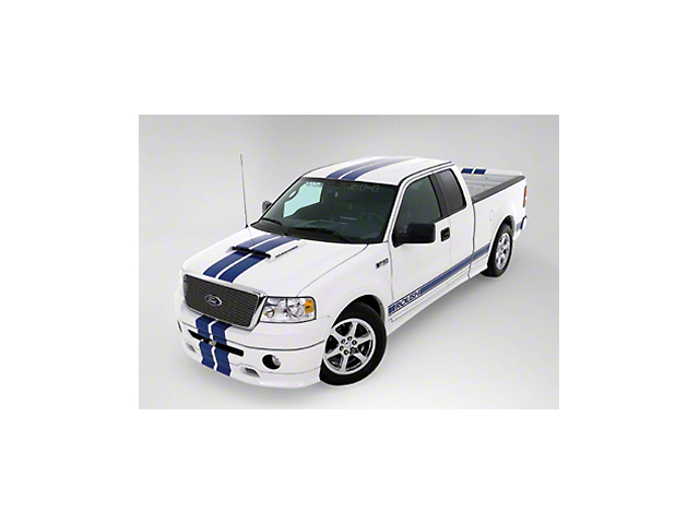 Roush Matte Black Stripe Kit - Top (04-08 SuperCab, SuperCrew)