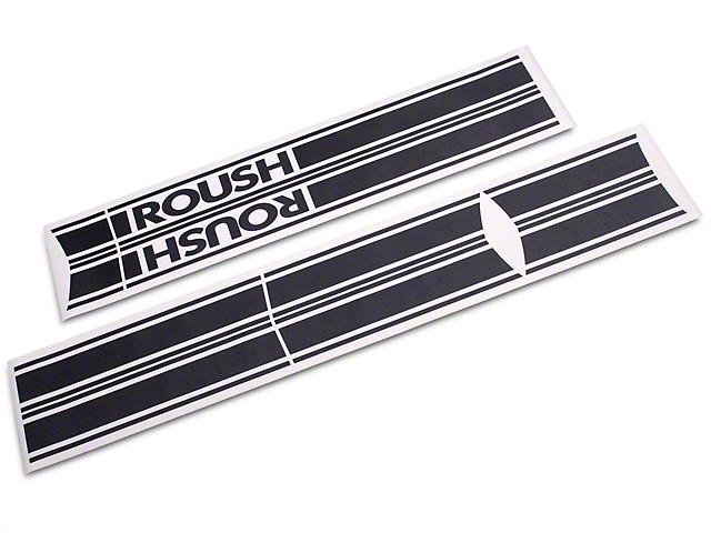 Roush Matte Black Stripe Kit - Rocker Panel (04-08 SuperCab, SuperCrew)