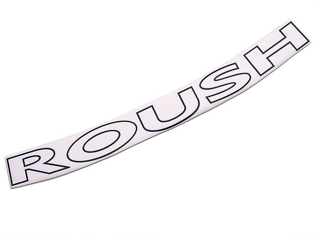 Roush Matte Black Windshield Banner (97-08 All)