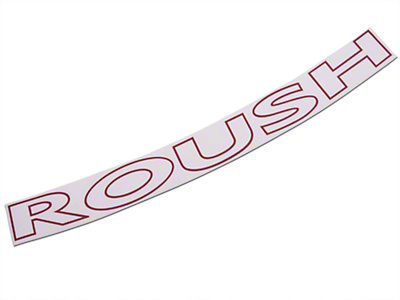 Roush Red Windshield Banner (97-08 F-150)