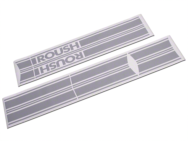Roush Competition Gray Stripe Kit - Rocker Panel (04-08 SuperCab, SuperCrew)