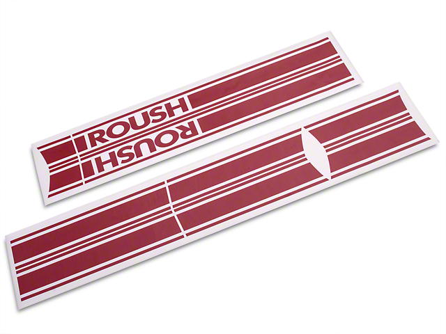 Roush Red Stripe Kit - Rocker Panel (04-08 SuperCab, SuperCrew)