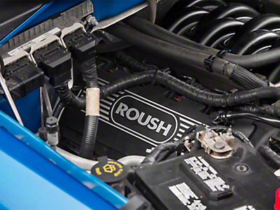 Roush Coil Cover Kit - Black (11-17 5.0L)