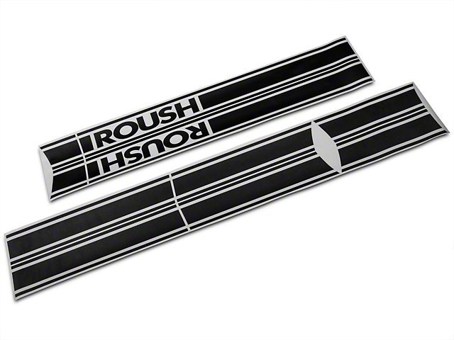 Roush Black Stripe Kit - Rocker Panel (04-08 SuperCab, SuperCrew)
