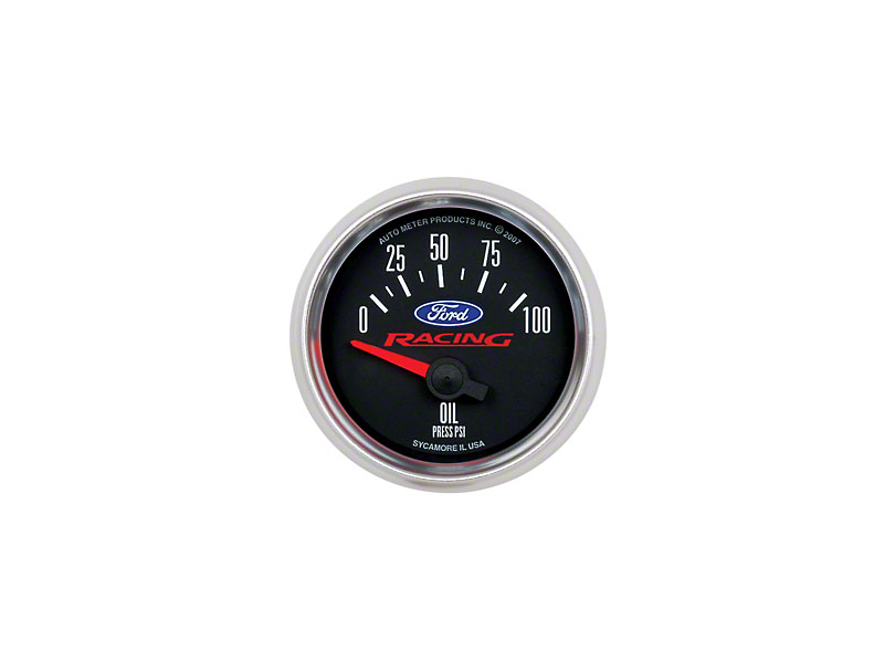 Ford Performance Oil Pressure Gauge (97-18 All)