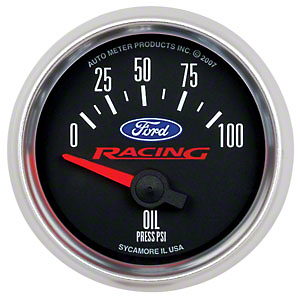 Ford Performance Oil Pressure Gauge (97-17 All)