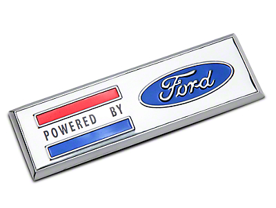 SpeedForm Powered By Ford Emblem