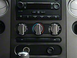 Modern Billet Chrome A/C Knob Covers (04-08 F-150)