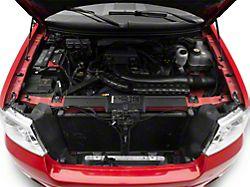 RedRock 4x4 A/C Fill Cap Cover; Chrome (04-08 F-150)