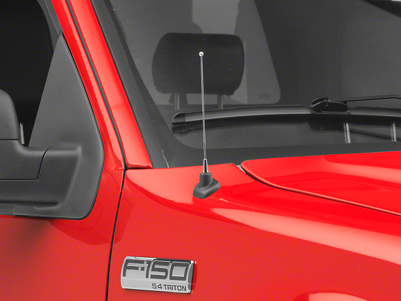 SpeedForm Fixed Chrome Antenna - 8 in. (97-08 F-150)